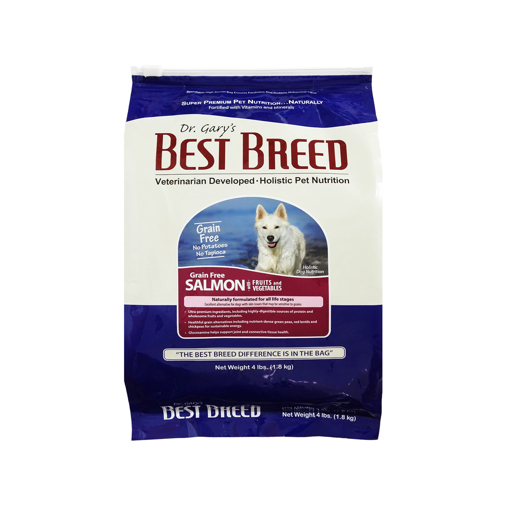 Picture of Dr. Gary's Best Breed Holistic Grain Free All Life Stages Salmon With Fruits And Vegetables Dog Dry Food